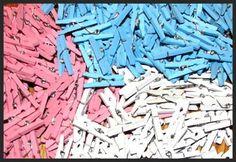 Mini Pins Favor Wooden Clothespins Scrap booking Favors