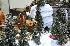Christmas Village Ideas | ... my Christmas village....but one can dream ... | Craft/Art Ideas H