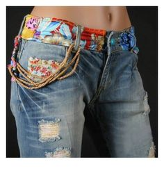 .just an idea to take tight fitting pants and take off waist band put on 62c256366e8