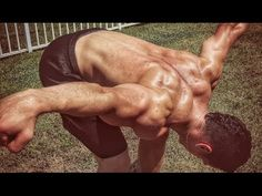 The BEST Shoulder Workout w/ ONLY BODYWEIGHT Exercises