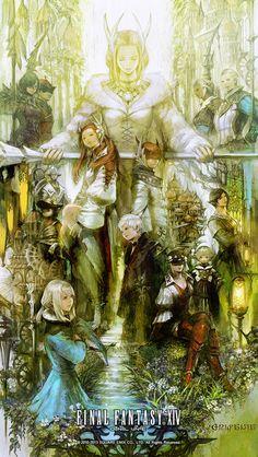 Gridania Promo from Final Fantasy XIV: A Realm Reborn