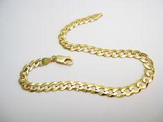 צמיד לגבר זהב מלא 14 קראט