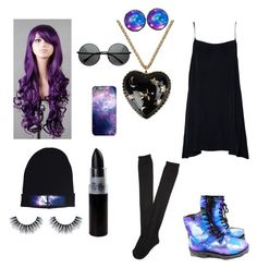 """""""Space girl"""" by rebecka-roggenstein on Polyvore"""