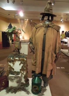 Miriam Margolyes Professor Sprout costume Harry Potter and the Chamber of Secrets