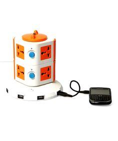 multi socket charger via BMS lifestyle via fashionandyou