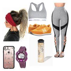 Designer Clothes, Shoes & Bags for Women New Balance Classics, Casetify, Calvin Klein, Sweatpants, Exercise, Queen, Shoe Bag, Polyvore, Shopping