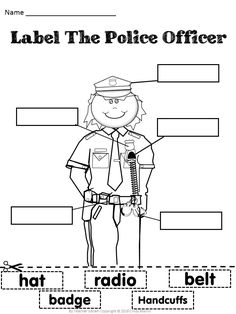 Part of a FREE DOWNLOAD to help foster relationships with Police Officers