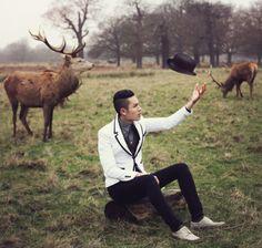 "lookbookdotnu: ""Richmond Park (www.quyenmike.com) (by Mike Quyen) """