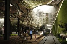 The LowLine: underground park concept for an abandoned Ferry Terminal on the LES