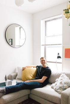 west elm - At Home With Hello Mr's Ryan Fitzgibbon
