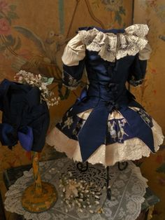 ~~~ Pretty One of a Kind French Bebe Costume ~~~ from whendreamscometrue on Ruby Lane