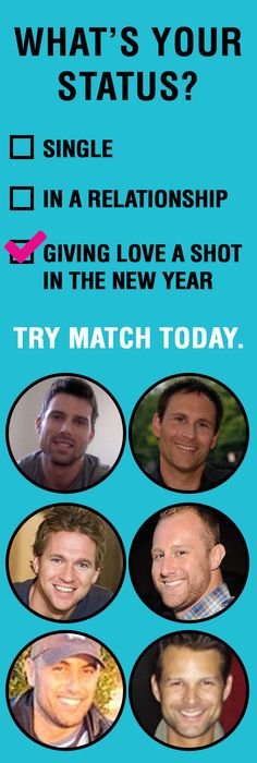 Are you single? Match members are 3X more likely to find a relationship. It is FREE to browse pictures and profiles of singles near you! Signing up is fast and easy - See who is online now! Aren't you curious?