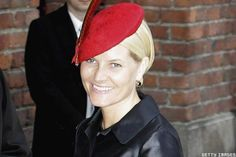 Princess Mette-Marit of Norway arrives at the Parliment's Lunch at City Hall to celebrate H.M. King Carl XVI Gustaf of Swedens 60th birthday on April 30, 2006 in Stockholm, Sweden