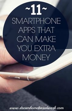 Smartphone Apps that Can Make You Extra Money Discover various ways to make money while at home using these 11 awesome smartphone apps.Discover various ways to make money while at home using these 11 awesome smartphone apps. Make Money Writing, Make Money Blogging, Money Saving Tips, Money Tips, Cash Money, Big Money, Make Money From Home, Way To Make Money, Work From Home Jobs