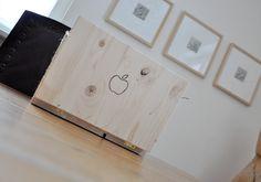 NATURKINDER: Einen Laptop aus Holz machen