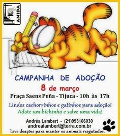 Bonde da Bardot: RJ: CAMPANHA DE ADOÇÃO DE ANIMAIS NA PRAÇA SAENS P...