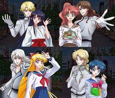 Inner Senshi X Shitennou Quiz RPG Magical X Wiz's by anemoneploy.deviantart.com on @DeviantArt