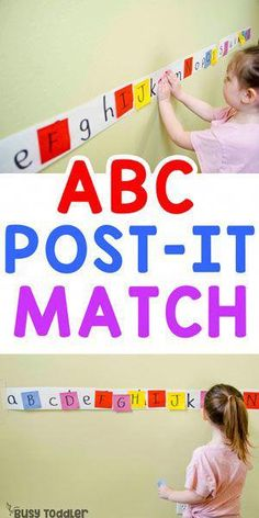 Easy Post-It Matching Activity busytoddler toddler toddleractivity easytoddleractivity indooractivity toddleractivities preschoolactivities homepreschoolactivity playactivity preschoolathome 630222541581615699 Preschool Learning Activities, Preschool Classroom, Classroom Activities, In Kindergarten, Toddler Preschool, Letter Activities, Teaching Toddlers Abc, Preschool Ideas, Letter A Preschool