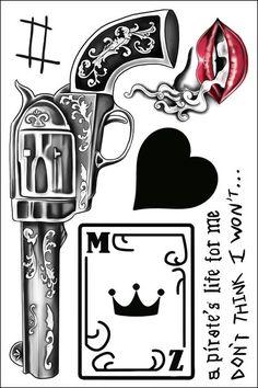 Zayn Malik Temporary Tattoos by Popstartats.com