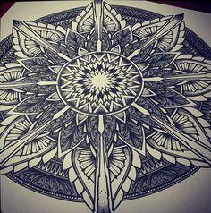 compass rose mandala tattoo art - Google Search