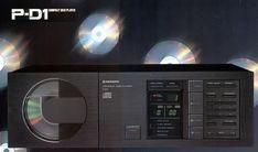 Compact Disc Player PIONEER P-D1 www.1001hifi.com Audio Wallpaper, Audio Vintage, Pioneer Audio, Monitor, Rack Tv, Jl Audio, Compact Disc, Camera Nikon, Digital Audio