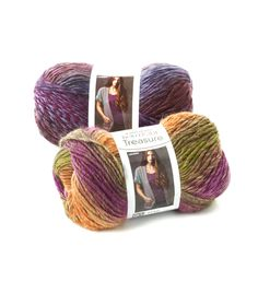 Boutique Treasure - Subtle colorations work up beautifully in this soft wool blend yarn. Treasure is perfect choice for unique garments and accessories.