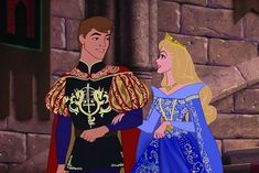 Disney Character Cosplay Princess Aurora and Prince Philip in their fancy royal clothing with fancy royal details - Disney Pixar, Walt Disney, Disney Nerd, Disney Couples, Disney Marvel, Disney Fan Art, Cute Disney, Disney And Dreamworks, Disney Animation