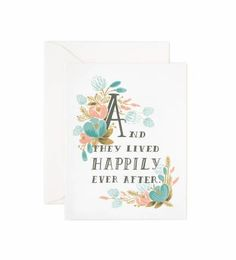 Our Rifle Paper Co. greeting cards. Give that special someone a beautiful and unique for any occasion.