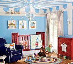 Inspiration: Inside the circus tent