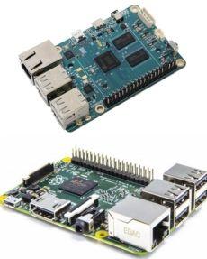 Comparativa entre Odroid-C1 y Raspberry Pi 2 B (Escritorios)