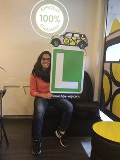 JESSICA BASLINO!!! #hoyvoy #autoescuela #badalona