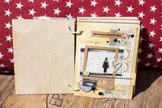 Scrap Kits  Co: SKC Kit Juillet - Mini Album Week end au Mont Saint Michel by Maska - Partie 1