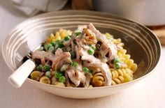 Cheap family meals: Recipes under per head - Creamy bacon and mushroom pasta - goodtoknow Cooking On A Budget, Budget Meals, Easy Cooking, Cooking Recipes, Budget Recipes, Cheap Recipes, Healthy Comfort Food, Healthy Meals For Two, Healthy Recipes