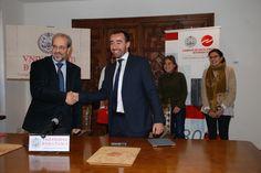 La Universidad de Salamanca y la Asociación de Jóvenes Empresarios de Salamanca firman un convenio de colaboración