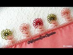 Gül kurusu düz yazmaya çıtı pıtı muhteşem iğne oyası modeli - YouTube Make It Yourself, Embroidery, Needlepoint, Crewel Embroidery, Embroidery Stitches
