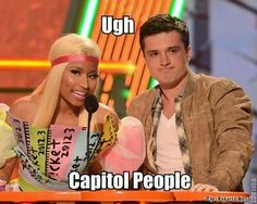 Gotta love the hunger games!