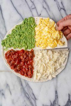 Breakfast Tortilla, Breakfast Wraps, Breakfast Recipes, Breakfast Ideas, Vegetarian Breakfast, Tortillas, Egg Sandwiches, Breakfast Sandwiches, Best Tuna Salad Recipe