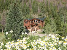 Now I'm dreaming! Other Breckenridge Properties Vacation Rental - VRBO 458955 - 4 BR Breckenridge House in CO, Beautiful Log Lodge on the Blue River, Close to. Colorado Resorts, Steampunk Wedding, Mountain View, Log Homes, Lodges, Skiing, Isaiah 11, Psalm 37, House Styles