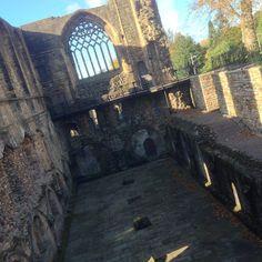 Dunfermline Abbey in Dunfermline, Fife