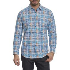 Robert Graham Nuts & Bolts Sport Shirt in Multi