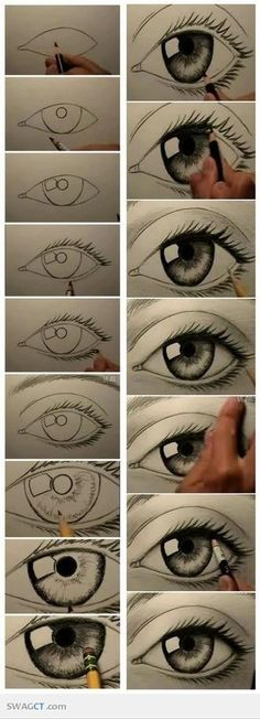 Step by step eye