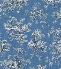 P/K Lifestyles Upholstery Fabric-Sea Bright Delft (24) joann