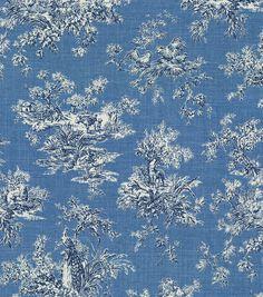 P/K Lifestyles Upholstery Fabric-Sea Bright Delft (24) joann
