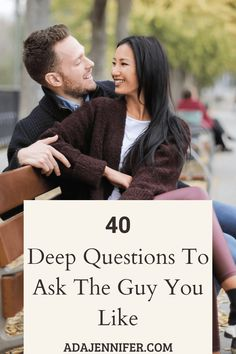 40 Deep Questions To Ask The Guy You Like - Ada Jennifer Slam Book Questions, Questions For Your Crush, Questions To Get To Know Someone, Getting To Know Someone, Couple Questions, This Or That Questions, Flirty Questions, Intimate Questions, Deep Questions To Ask