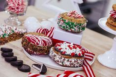 Holiday Chocolate Chip Cookie Sandwiches Filled with Chocolate Cake – HOW TO CAKE IT