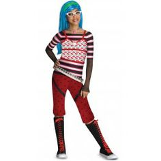 Ghoulia Yelps Monster High kostuum