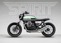 Spirit;Blog - Moto Guzzi V7 Stone - We've been really looking...