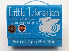 Little Librarian pretend play set