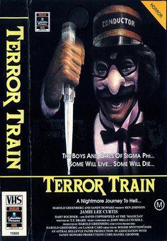 Terror Train (1980) Slasher/Horror -------Horror classic with Jamie Lee Curtis