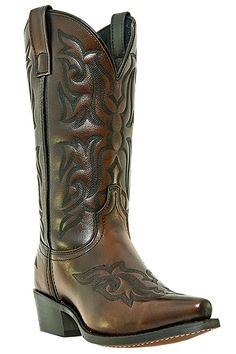 Laredo Men's Burnished Gold Hawk Cowboy Boots